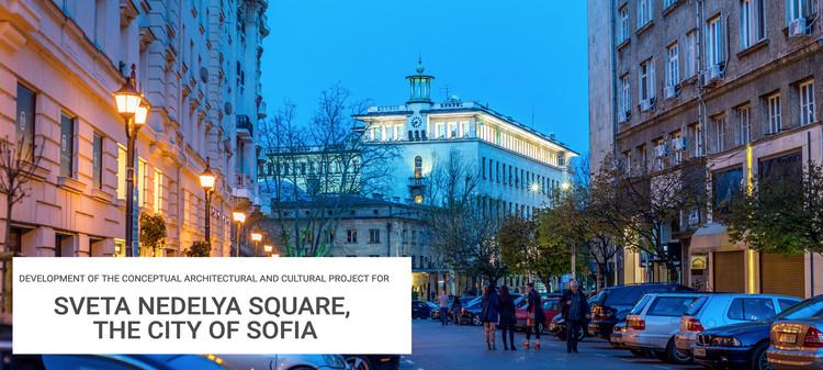 Development of the Conceptual Architectural and Cultural Project for Sveta Nedelya Square, City of Sofia