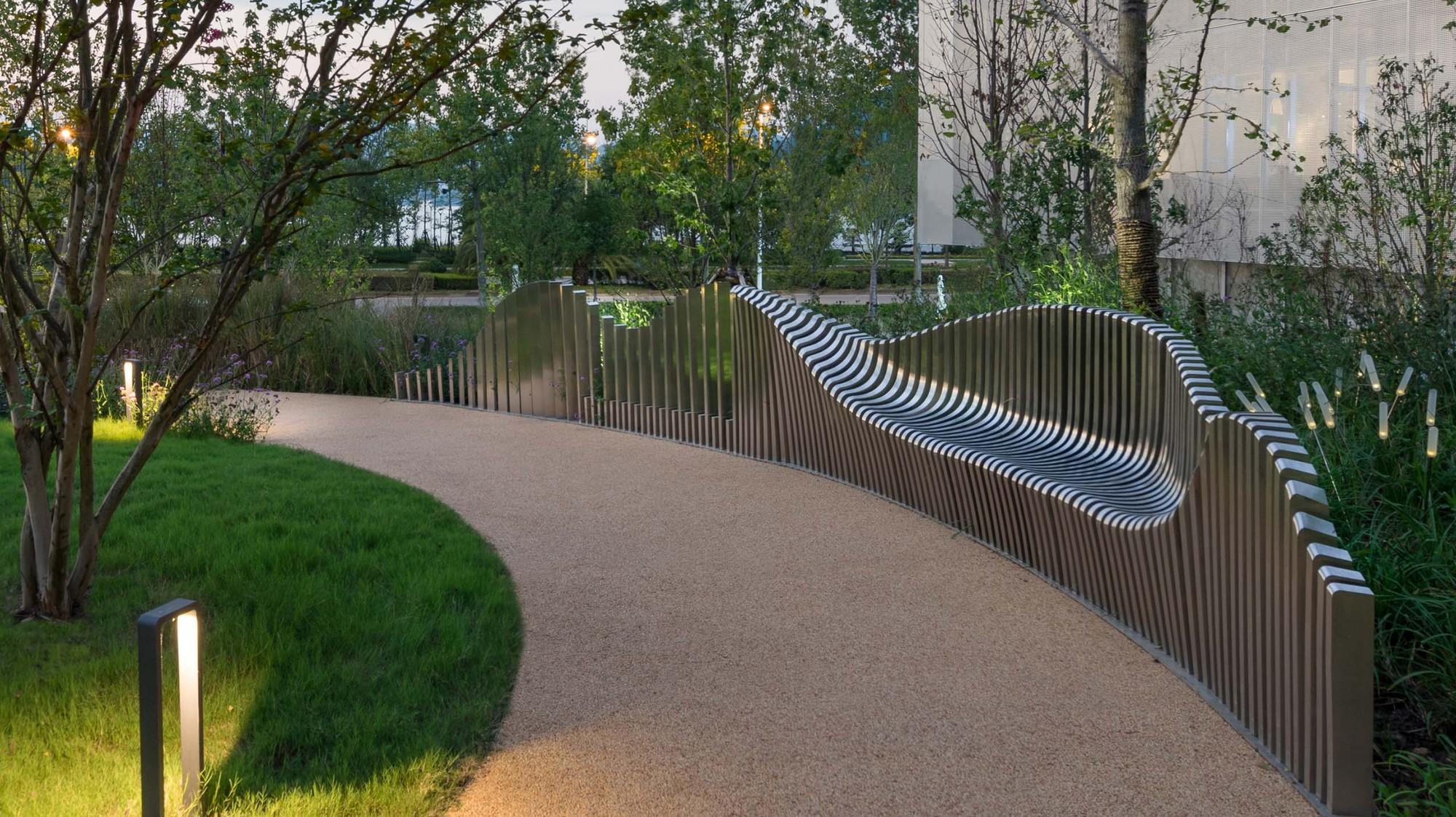 Galeria De Lakeside Garden Topos Landscape Architects 16