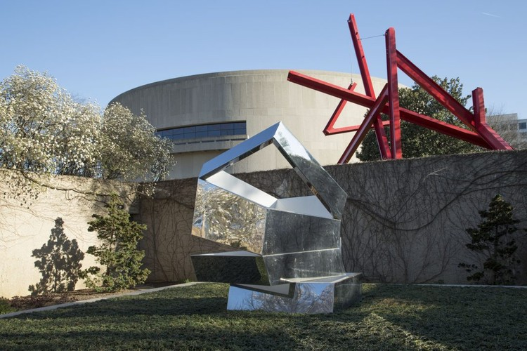 Hiroshi Sugimoto Designs New Sculpture Garden for the Hirshhorn Museum, Existing Sculpture Garden. Image Courtesy of Hirshhorn Museum