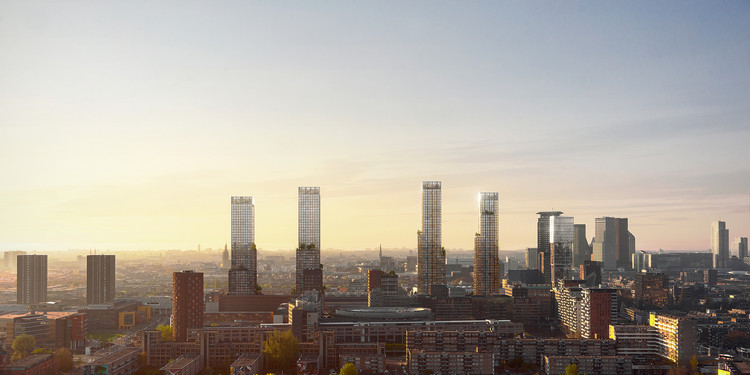 KCAP Reveals Urban Vision to Revitalize the Post-Industrial Landscape of The Hague, © KCAP and WAX