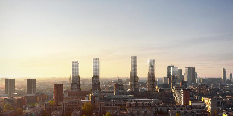 Projeto urbano da KCAP transformará o centro da cidade holandesa de Haia, © KCAP and WAX