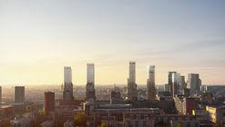 Projeto urbano da KCAP transformará o centro da cidade holandesa de Haia