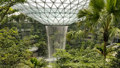 Safdie's Jewel Changi Airport Nears Completion, Featuring the World's Tallest Indoor Waterfall