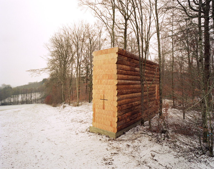 Wooden Chapel  / John Pawson, © Photography Felix Friedmann