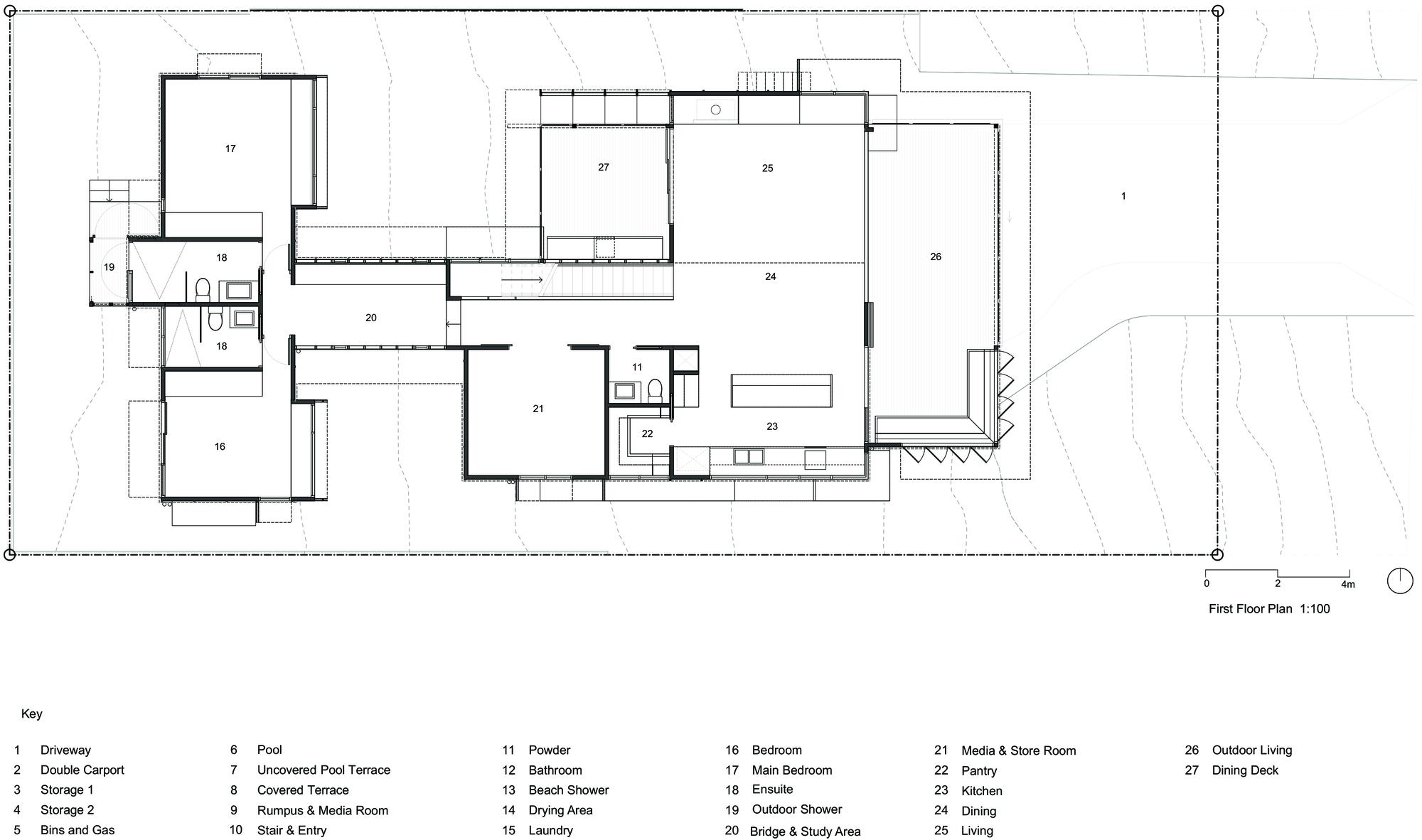 Gallery Of Sunshine Beach House Bark Design Architects 23