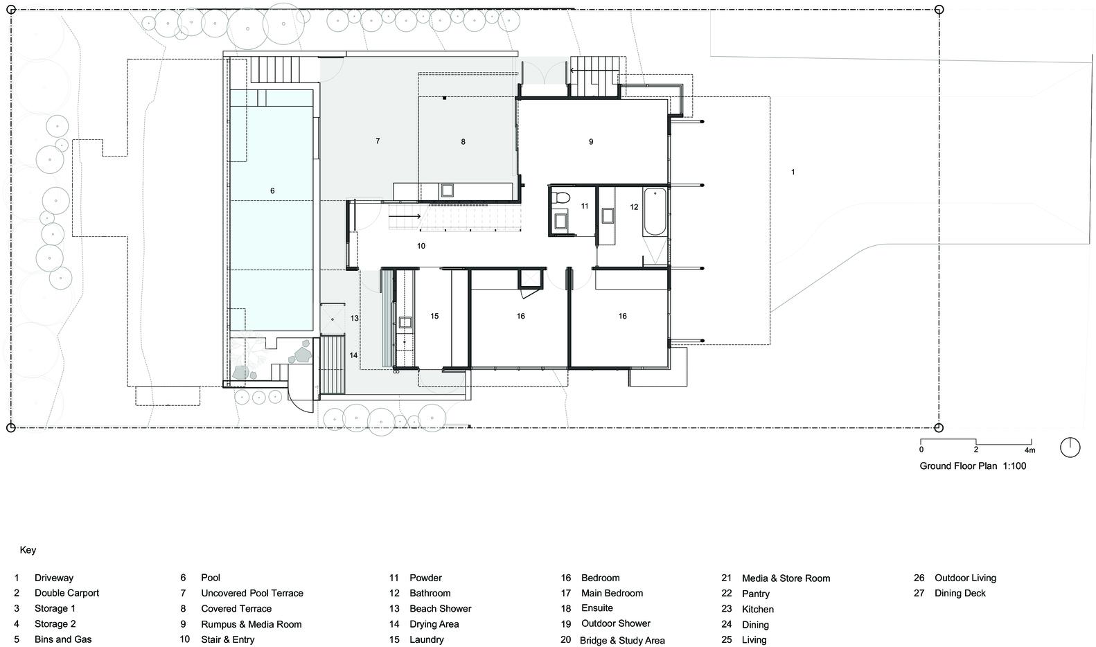 Gallery Of Sunshine Beach House Bark Design Architects 22
