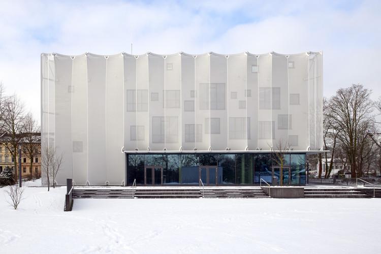 Academia Textil NRW / slapa oberholz pszczulny | sop architekten, © Thomas Mayer