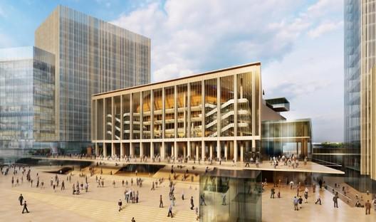 International Congress Centre. Image Courtesy of Studio Fuksas