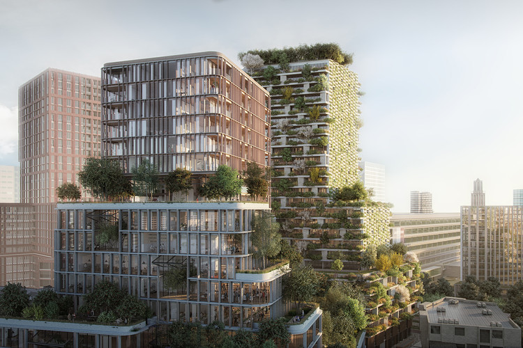 Wonderwoods by MVSA Architects and Stefano Boeri Architetti is the MIPIM/AR Future Project of the Year, Wonderwoods by MVSA Architects + Stefano Boeri Architetti. Image via MIPIM
