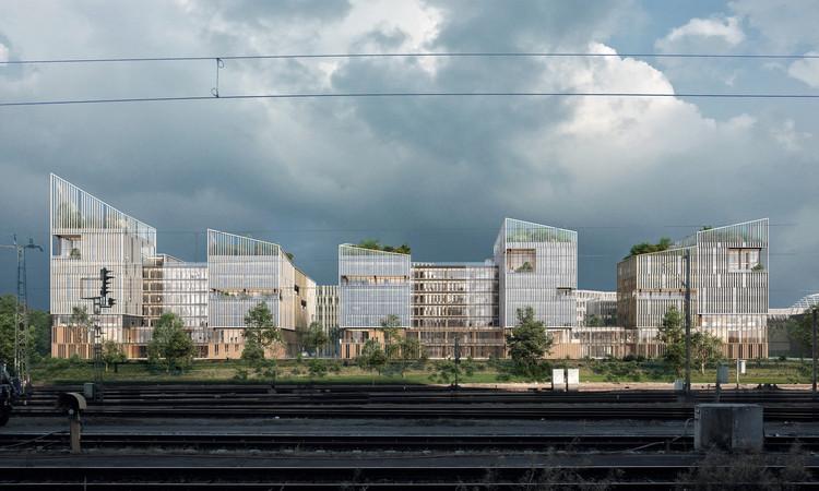 Henning Larsen projeta complexo de uso misto na região metropolitana de Paris, Cortesia de Henning Larsen