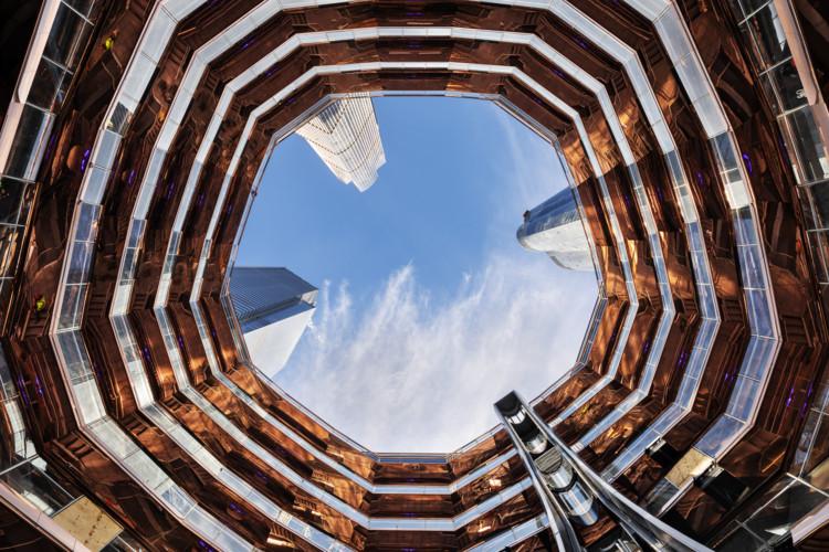 El Hudson Yards de Nueva York abre sus puertas al público y presenta el 'Vessel', Vessel . Image Courtesy of Michael Moran for Related-Oxford