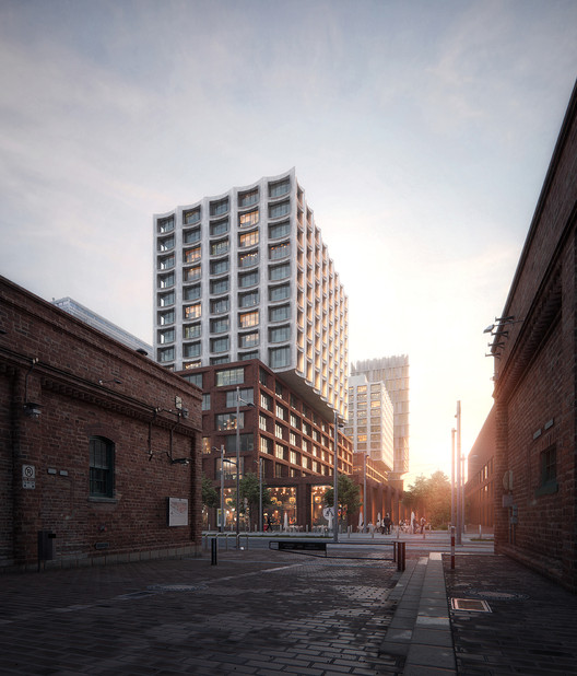 COBE Designs Affordable Housing Project for Downtown Toronto, Courtesy of COBE