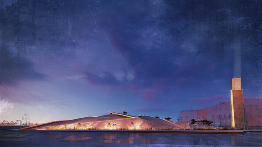 Emre Arolat Architecture Reveals Design for Nora Mosque Near Dubai