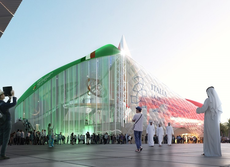 Carlo Ratti Reveals Design for the Italian Pavilion at Expo Dubai 2020, © Carlo Ratti Associati