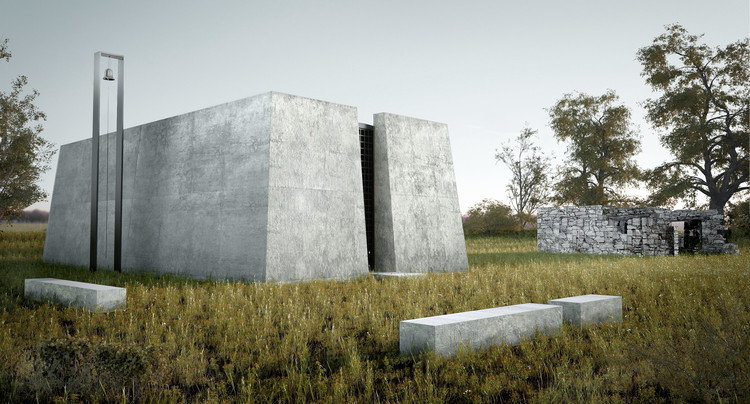 Giannis Giannoutsos Designs a White Chapel for Rural Greece, White Chapel. Image Courtesy of Ilias Georgakopoulos