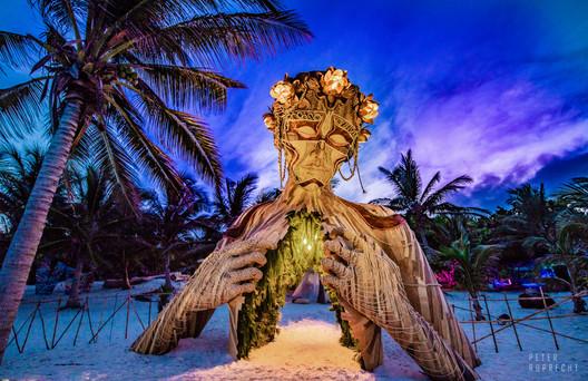Art With Me, Tulum Ecoculture Festival. Image © Peter Ruprecht