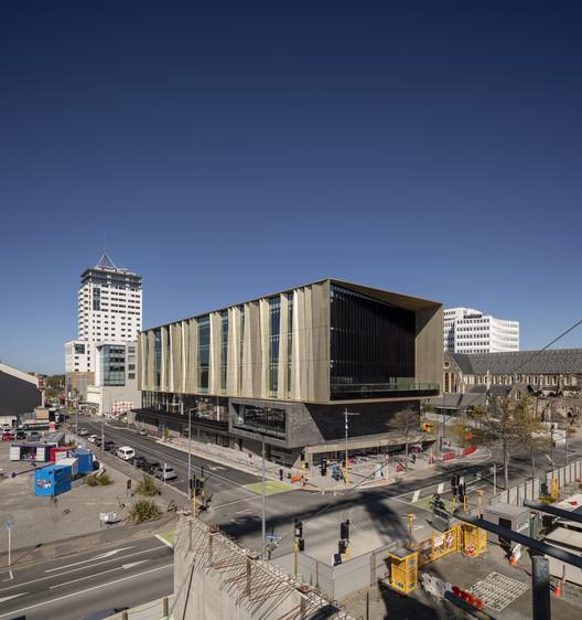 Tu?ranga Christchurch Central Library / SHL