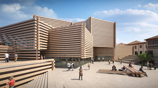 © Kengo Kuma and Associates