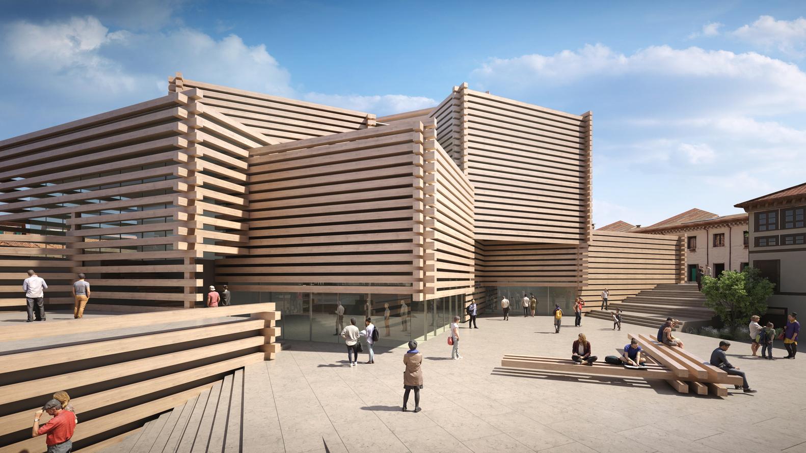 Kengo Kuma's Stacked Timber Museum in Turkey Opens in June,© Kengo Kuma and Associates