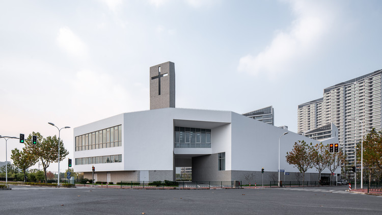 New Bund District Church / Ábalos + Sentkiewicz arquitectos, © Zhang Yong