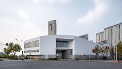 New Bund District Church / Ábalos + Sentkiewicz arquitectos