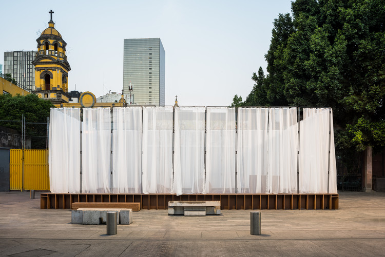 Conoce la propuesta construida del Concurso Arquine No.21 | Pabellón Mextrópoli 2019, © Arturo Arrieta
