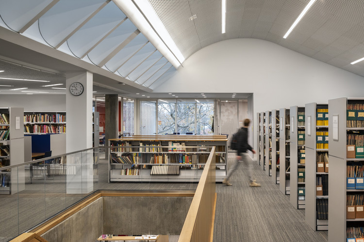 Tate Library at Ethical Culture Fieldston School / Architecture Research Office, © James Ewing