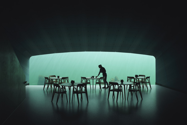 Snøhetta Completes Europe's First Underwater Restaurant