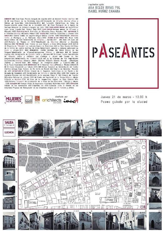 PAseAntes: paseo guiado por Logroño, Diseño por Isabel Muñoz. Imuca