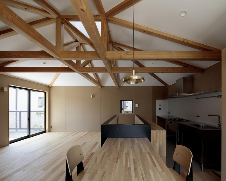 House of Light Truss / Ikeda Yukie Ono Toshiharu Architects, © Koichi Torimura