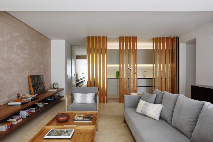 Apartamento FJC / Pascali Semerdjian Arquitetos, © Ilana Bessler