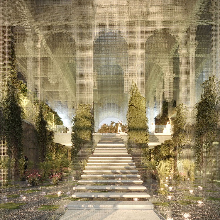 Dodi Moss Team Designs an Ethereal Italian Pavilion for Expo Dubai 2020 Competition, © Dodi Moss