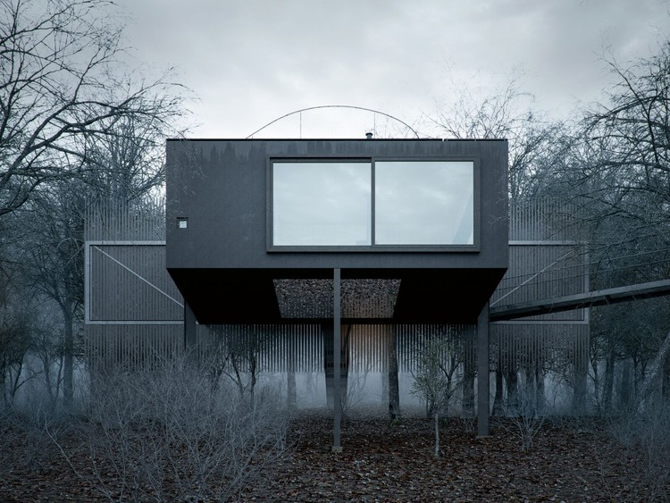 A Space of Contemplation and Sanctuary by WOJR