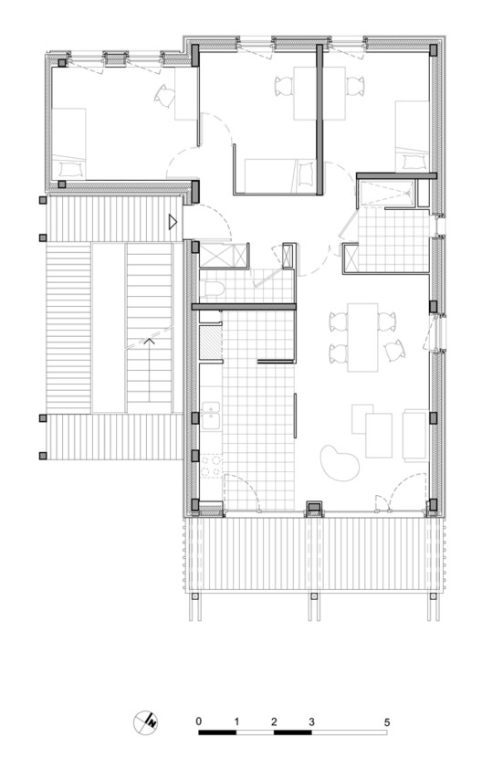 Planta Chauveau - 26 / ODILE+GUZY architectes