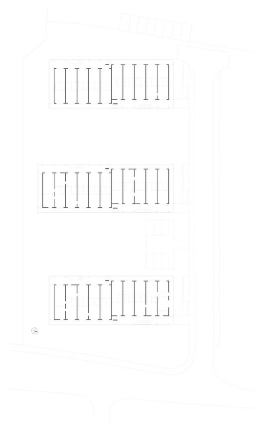 Planta - Abrigo para os sem-teto / RKW Architektur +