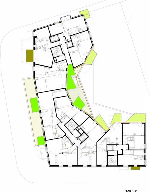 Planta - FULTON – A5 A1 / Agence Bernard Bühler