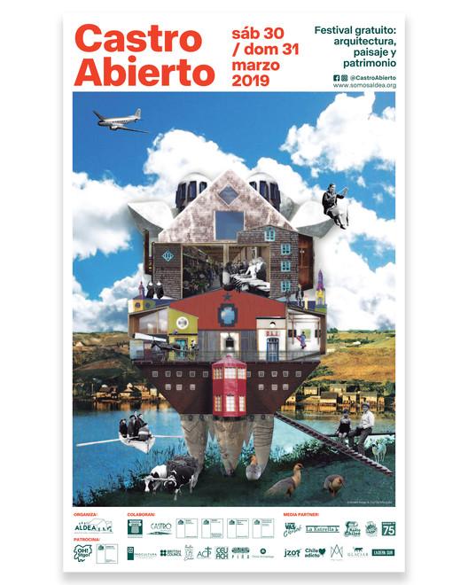 Castro Abierto: Festival de arquitectura, paisaje y patrimonio en Castro, Edward Rojas y Camila Mancilla