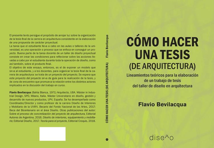 Cómo hacer una tesis (de arquitectura), Editorial Diseño