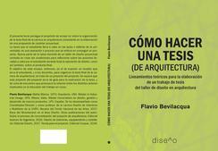 Cómo hacer una tesis (de arquitectura)