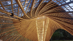 Swirling Cloud: Bulletin Pavilion for BJFU Garden Festival / SUP Atelier