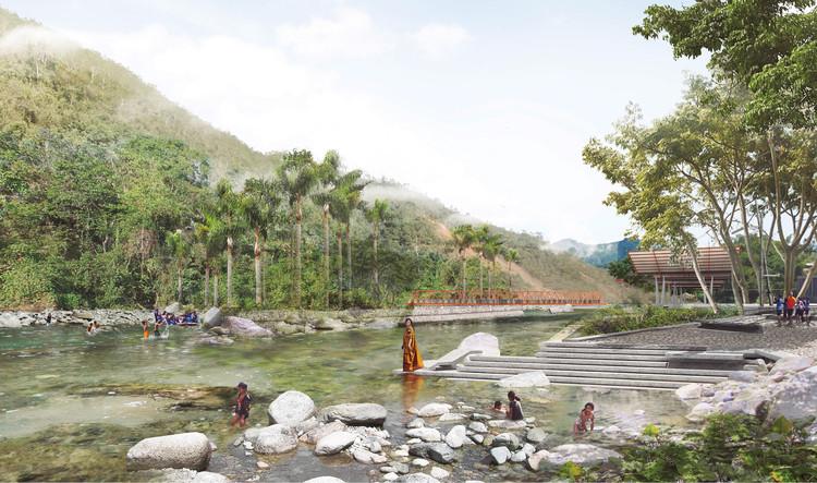 Estos son los ganadores del Concurso Nacional de Ideas Satipo, ciudad en la selva central del Perú, Cortesía de SATIPO