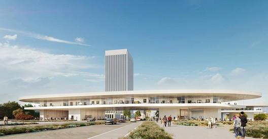 LACMA Expansion. Image Courtesy of Atelier Peter Zumthor & Partners / The Boundary