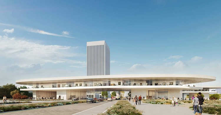 Peter Zumthor's Revised LACMA Design for Los Angeles is Approved, LACMA Expansion. Image Courtesy of Atelier Peter Zumthor & Partners / The Boundary