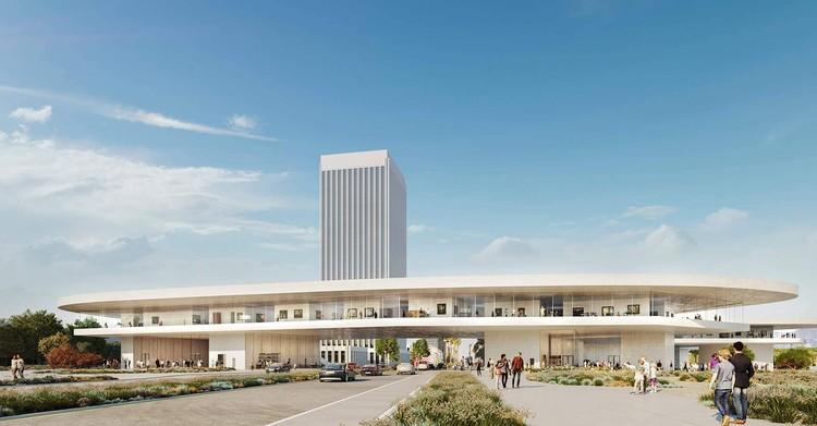 Se aprueba el nuevo diseño de Peter Zumthor para la expansión del LACMA en Los Ángeles, Expansión LACMA. Imagen Cortesía de Atelier Peter Zumthor & Partners / The Boundary