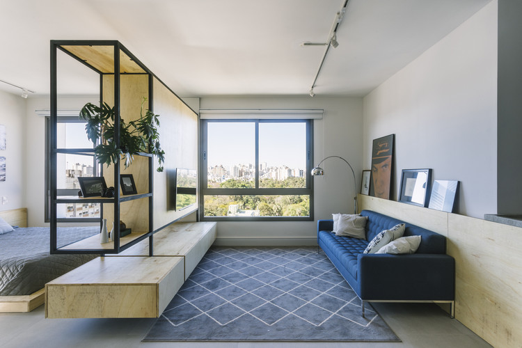 Apartamento Artsy / BARRA Arquitetos, © Gabriel Carpes