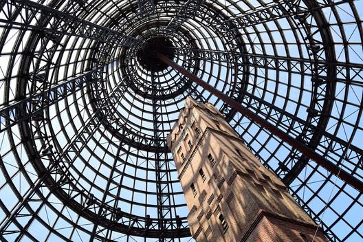 Clock Tower inside Melbourne Central, Australia. . Image Courtesy of SiteSupervisor
