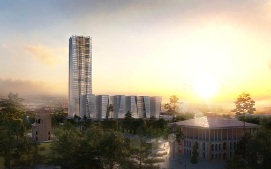 © Eike Becker_Architekten and Hadi Teherani Architects