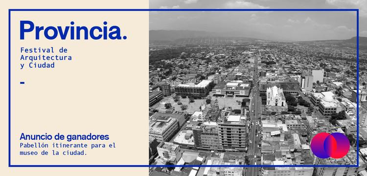 Conoce a los ganadores del Concurso para la Intervención Urbana: Festival Provincia 2019