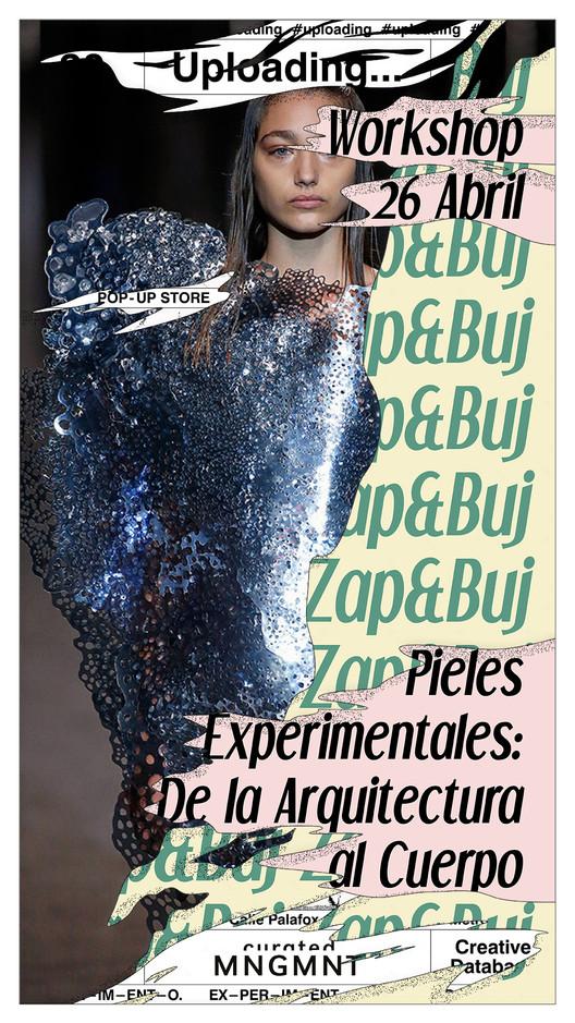 Pieles experimentales: de la arquitectura al cuerpo, Diseño gráfico: Venida Devenida