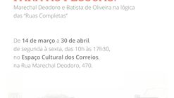 """Juiz de Fora para as pessoas: Marechal Deodoro e Batista de Oliveira na lógica das """"Ruas Completas"""""""